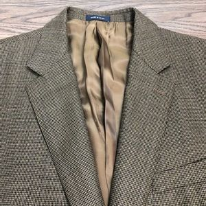 Ralph Lauren Brown & Black Check Blazer 46R